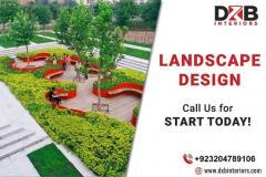 Grand Landscape Design Services In Lahore  Dxb I