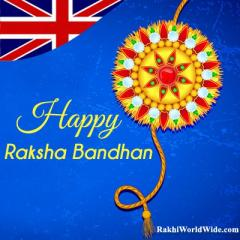 Send Rakhi Online to UK and Celebrate Raksha Bandhan