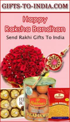 Surprise your Brother in India with amazing Rakhi onlin