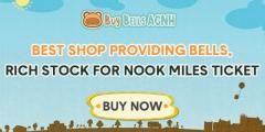 BuyBellsACNH.com is a good partner for all Animal Cross