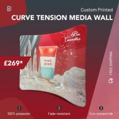 Curved Backdrops For Events, Trade Shows In Uk