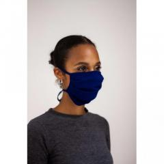 Washable UK Model VSG2-94 Cotton Blue Fabric Face Mask
