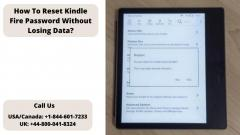 Step To Reset Kindle Fire Password Without Losin