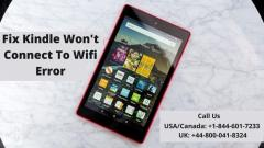 Guide To Solve Kindle Wifi Connectivity Issue  C