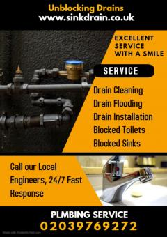 Drain Cleaning London - Sink Drain London