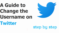 A Guide to Change the Username on Twitter