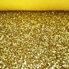 Find Our Beautiful Gold Glitter Fabric From Glit
