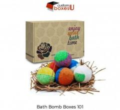 Bath Bomb Boxes Attract Customer Intention