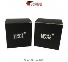 Printed Personalized Branded Soap Boxes In Uk