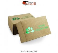 Soap Box Wholesale With Printed Logo & Design In