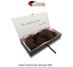 Printed Personalized Branded Hair Packaging In L