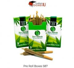 Logo Printed Cheap Pre Rolled Joint Box In Londo