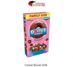 Buy Custom Cereal Boxes At Best Price With Free