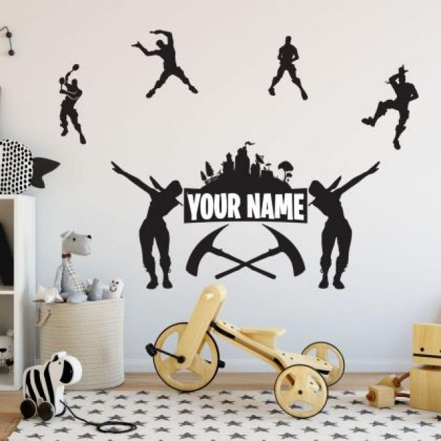 Fortnite Wall Decals 4 Image