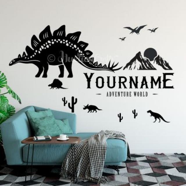 Dinosaur Wall Decals 4 Image