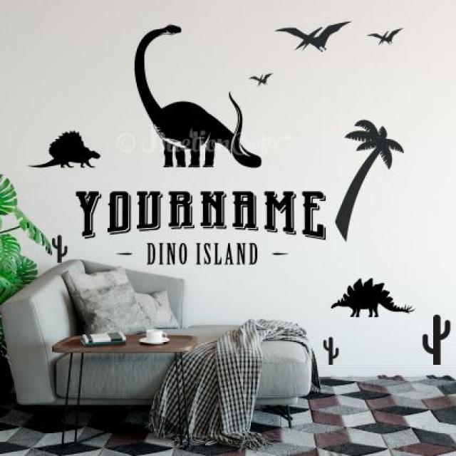 Dinosaur Wall Decals 3 Image