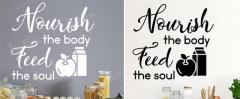 Kitchen Wall Stickers Quotes