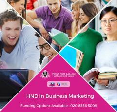 HND In Business Marketing
