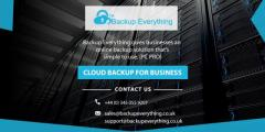 Cloud Backup Uk