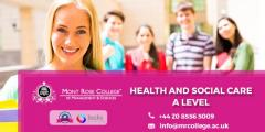 Hnd Health And Social Care Courses In London