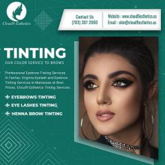 Eyebrow Tinting Services In Fairfax