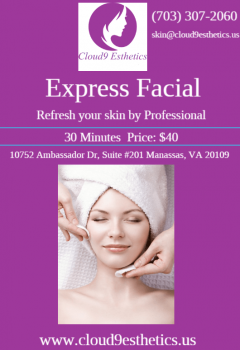 Best Express Facial Services In Warrenton, Manas
