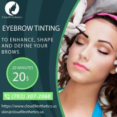 Eyebrow Tinting Services  Beauty Care Treatment