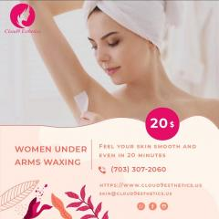 Under Arms Waxing Services In Reston, Manassas