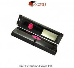 Standard design of Custom Hair Extension Packaging USA
