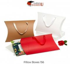 Unique Ideas of Custom Pillow Boxes Wholesale for Pack