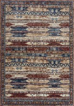 Alhambra Rug by Mastercraft Rugs in 6576A IvoryRed