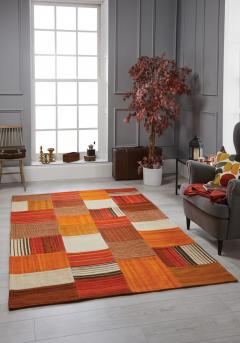 Navajo Rug By Oriental Weavers In Terra Colour -