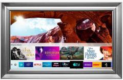 Silver Leaf Frame Samsung 55 Inch Ultra Hd Smart