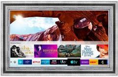 Framed Mirror Tv With Samsung 55 Inch 4K Ultra H