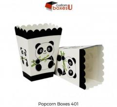 Custom Printed Personalized Branded Popcorn Boxes in UK