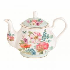Porcelain Teapot, 1 Pc