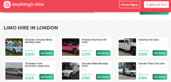 Limo Hire London  Cheap Car Hire