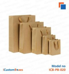 Amazing Printed Paper Bags With Handles For Sale at iCu