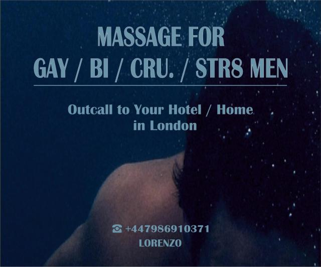MASSAGE FOR GAY-BI-STR MEN - OUTCALL TO HOME HOTEL 3 Image