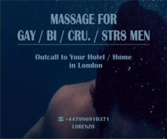 MASSAGE by Prof. MALE Masseur For MEN OUT-CALL ONLY