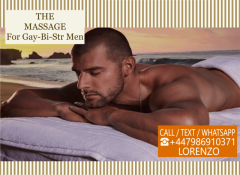 Massagefor Men Gay-Bi-Str By Male Masseur Outcal