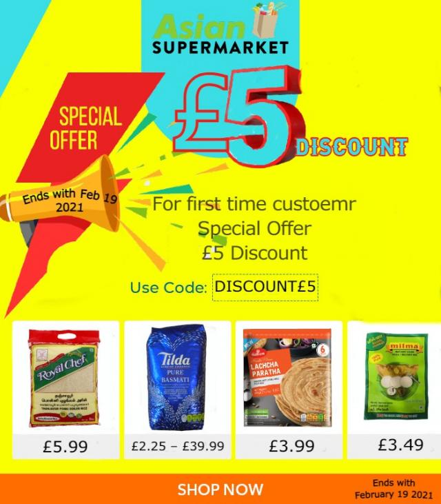 Special Offer for 1st-time customer get 5pound discount 7 Image