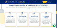 Genuine Essay - Professional Essay Writers UK