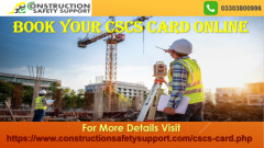 Get Your CSCS Card Online  Contact for CSCS Card
