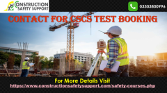 Contact for CSCS Test Bookings  Online CSCS Test