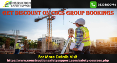 Get Discount on CSCS Group Bookings  Online CSCS Group