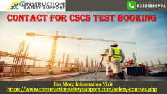 Contact for CSCS Test Booking  Online CSCS Test