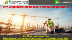 Get More Discount on CSCS Test Group Bookings