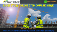 Book your Online CITB Course Here