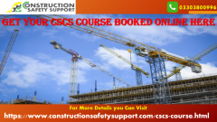 Get your CSCS Course Booked Online Here